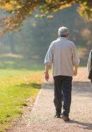 Gli anziani e l'autunno: un clima non più cosi caldo